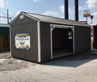 12×24 Side Utility Garage