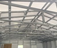 40 wide steel trusses Kellerman